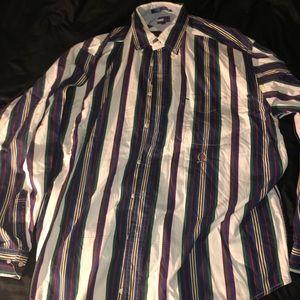 Tommy Hilfiger multicolor button up shirt